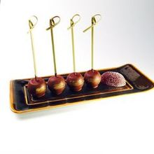 Hot selling food grade bamboo appetizer party picks