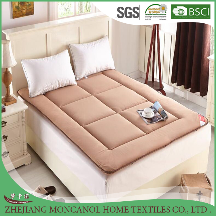 Cheap fitted school student single bed polyester mattress topper /protector for wholesales - Jozy Mattress | Jozy.net