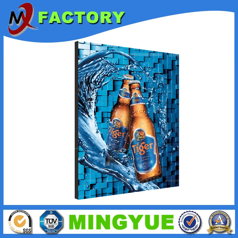 Wholesale LED super large Aluminum profile floor stand advertising light box