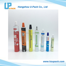 Pharmaceutical aluminum collapsible tubes with needle nose for Cosmetics or Medicine Usage