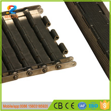 food processing line plain weaving link belt ls338 track plate for oven conveyor