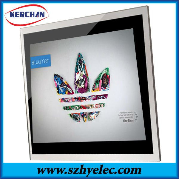 Hot!! Shenzhen 12.1 inch Acrylic family photo frame,digital picture frame(DPF9012A2)