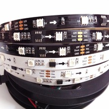 Flexible 5m/roll ws2811 music control digital dmx madrix led strip ws2811 led pixel