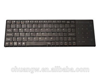 ultra slim wholesale mini bluetooth keyboard for PC Cell Phone iPhone iPad