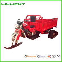 New Design 250cc Gasoline Power Engine Snow Field Ski Cargo Tricycle