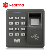 Realand M-F100 grey color 500 fingerprint standalone rfid door access control security system
