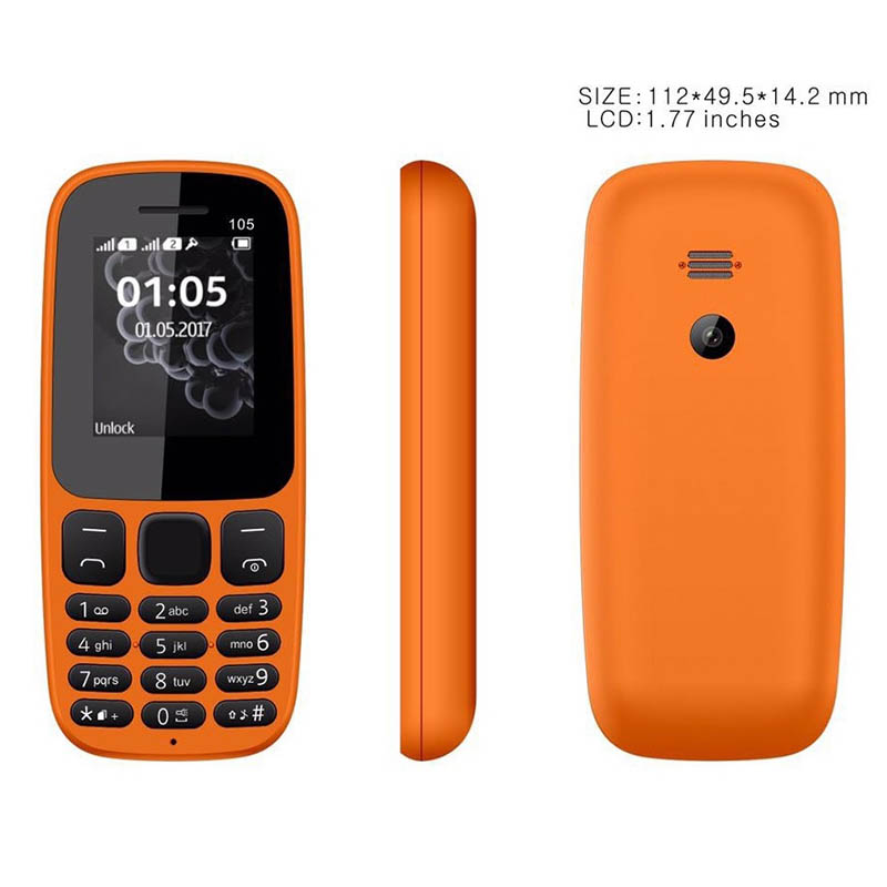 World best selling products <strong>1</strong>.8inch gsm dual sim card very small mobile phone for 105 108