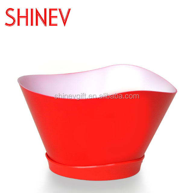 New Multi Color Led Ice Bucket for bar wine