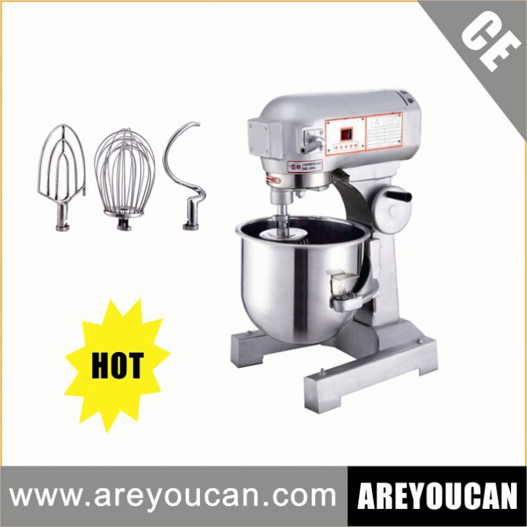20L Stainless Steel Attachments Floor Standing CE&ISO Machine For Rolling Dough