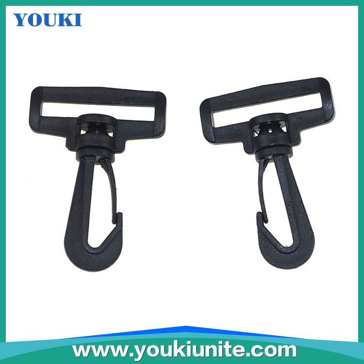 Wholesale Bag plastic buckles / High quality Plastic Snap Hook/ Hang Buckle