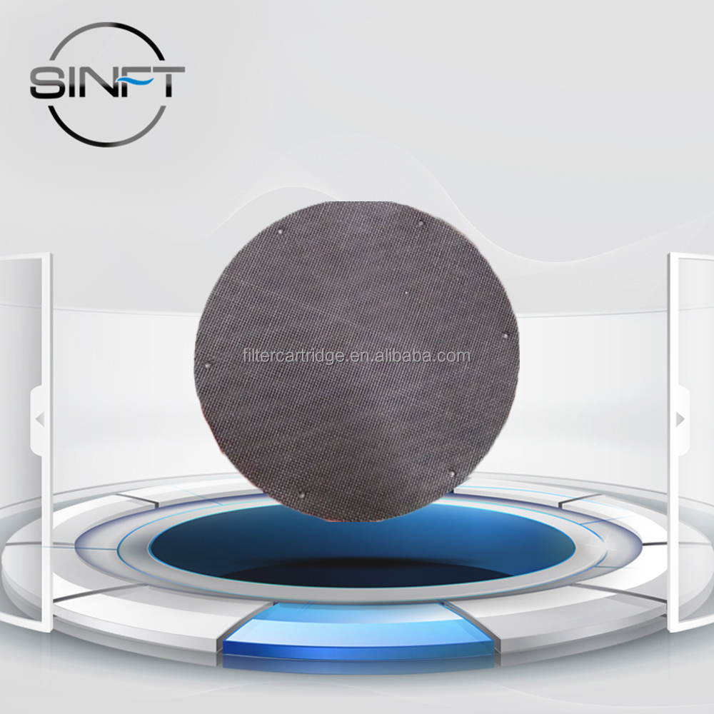 Sintered Stainless Steel Porous Disc Filter