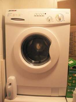 Aftron Frontload Washing Machine/Dryer