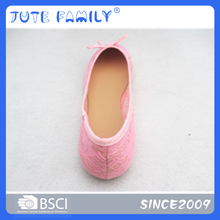 Trade Assurance Ladies Slip On Pointed Toe Flat Shoes 2017 New Style Mommy Shoe