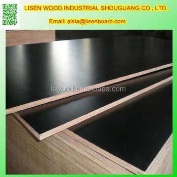 18mm Exterior Grade Film Coated Birch Plywood Formwork Panel,18mm Phenolic  PP Plastic Faced Hardwood