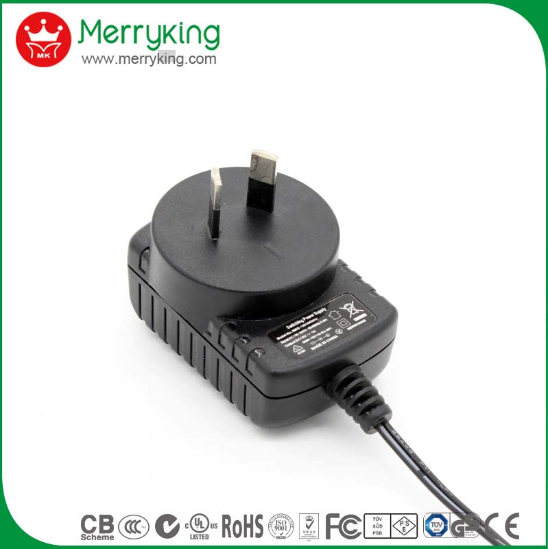 superior performance UL CE SAA approved switching power adaptor 15v 800ma