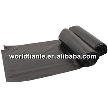 Wholesale black large eco friendly roll pack poly garbage bag