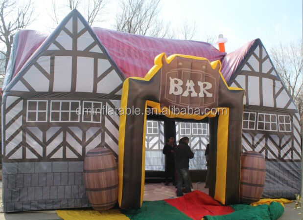 2015 advertising inflatable bar for sale