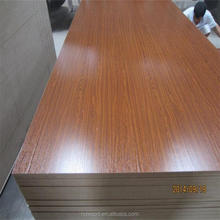 oak/beech/maple/teak veneer fancy mdf board / melamine mdf sheet/ Raw MDF price