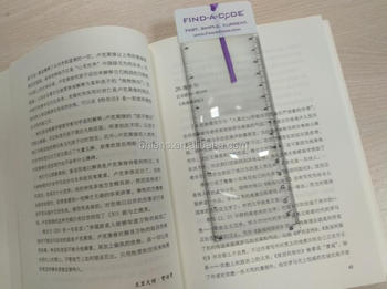 BHM-07 PVC soft flexible reading magnifier