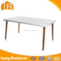 Modern Design Heavy-duty 4 Seater Wooden Dining Table