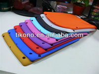 high quality protective durable soft silicon case for ipad 2 3 4
