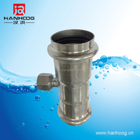 Stainless steel pipe fittings Tee made in China NPT thread