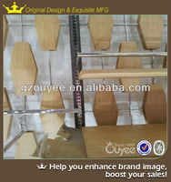High quality direct factory price decorative wood wall shelves and free standing mirror