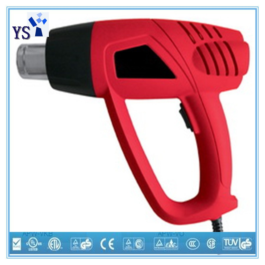 LCD & Adjustable Temperature hot air gun with high quality