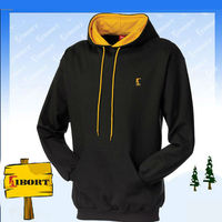 JHDM-601 double hooded two tone sweatshirt/hoodies