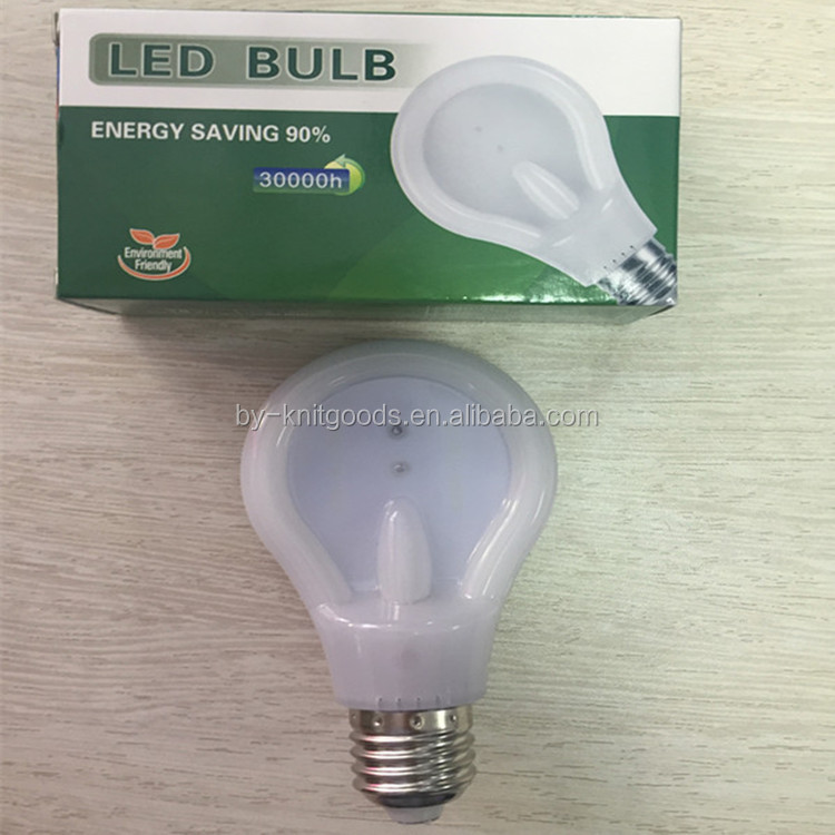 Yiwu 2016 hot sale 9w e27 high quality special design flat white jade led bulb without stroboflash