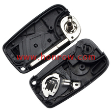 New design Fiat 2 button remto key blank with special battery clamp