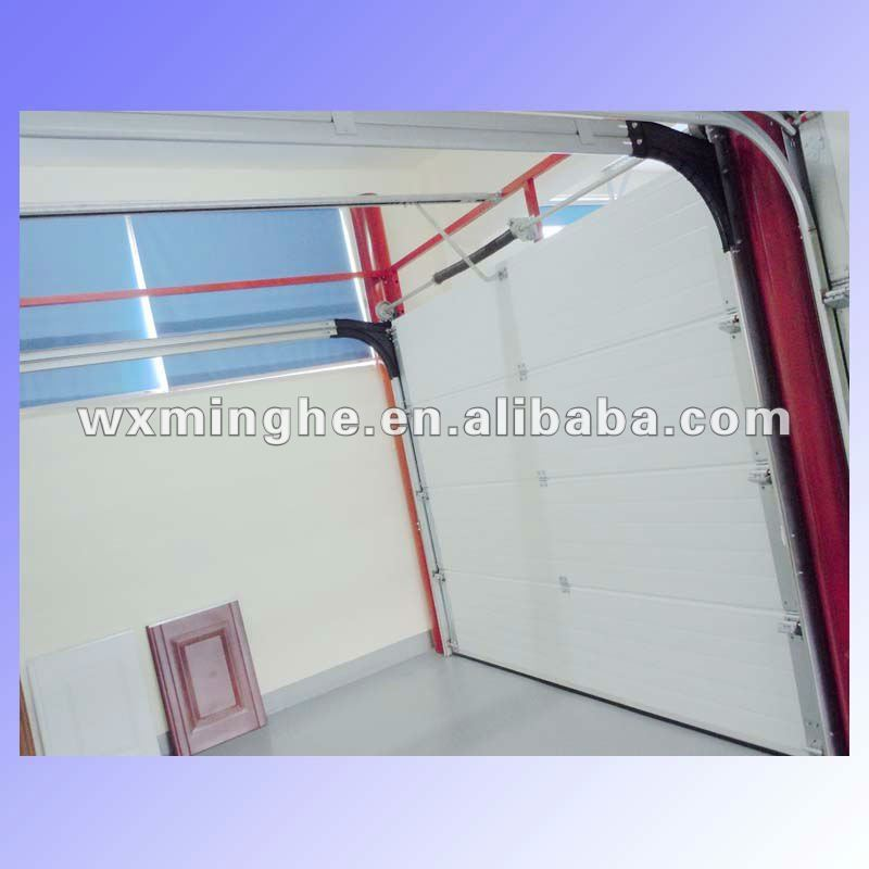 residential pinch resistant garage door/manual lift garage door