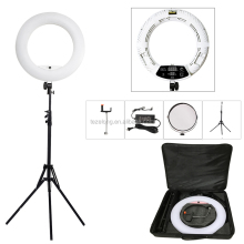 Professing for videos fashion popular photography FD-480II black bi-color photo studio circle make up mirror ring light