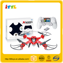 Rc aircraft model with 720p hd camera