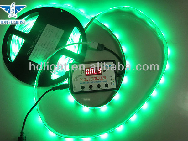 Pop Design Attractive mall decorationRGB music controll led light strip