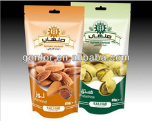 Three-side-seal packaging for Almond /Dried food