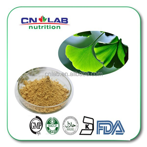 Food grade Hypertension reduce blood pressure pure ginkgo biloba leaf extract powder