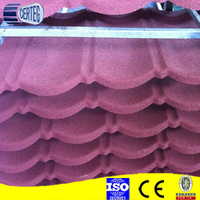 Hangzhou colorful metal stone roofing sheets /galvalume roofing /aluminium zinc steel stone coated