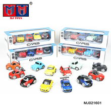 1:48 pull back Q mini metal vintage vehicle model die cast car toy for wholesale