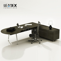 MDS executive table with melamine l shape office furniture desk