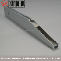 shelves braket for exhibition booth,exhibit alumibium profiles for tradeshow