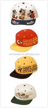 wholesale high quality cheap new design kid trucker cap/ custom cartoon pattern child trucker cap hats