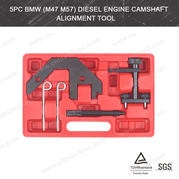 5pc Diesel Engine Camshaft Alignment FOR BMW M47/M57 Automotive Tools (VT01080)
