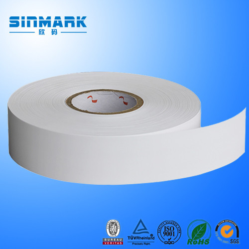 SINMARK heat transfer printing polyester satin care label