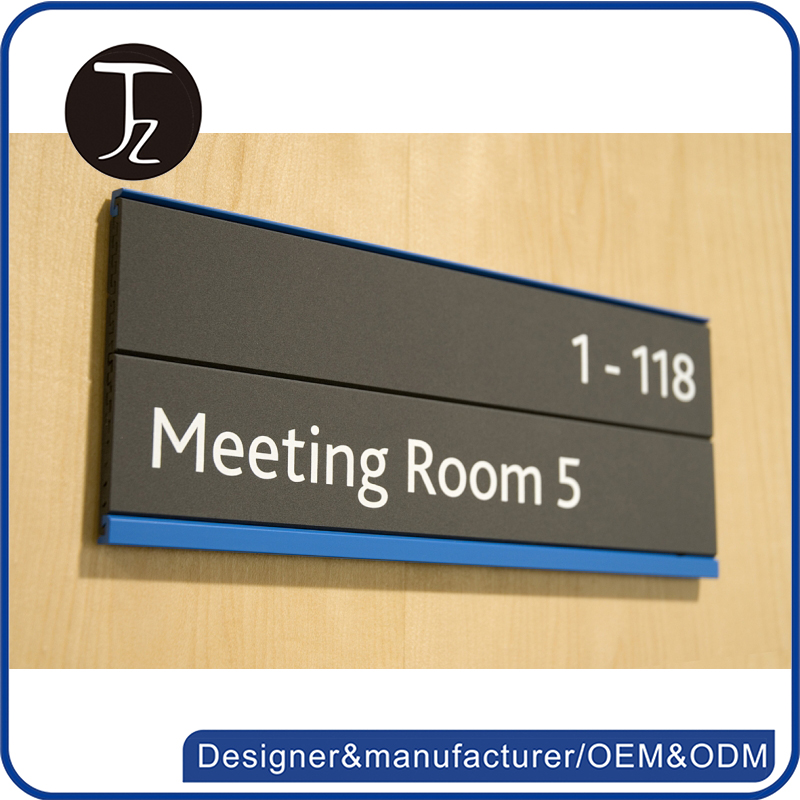 Customized metal/stainless steel/aluminum office door name sign plates