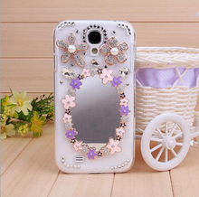 Shemax mirror back cover pc case for Samsung galaxy s4 i9500