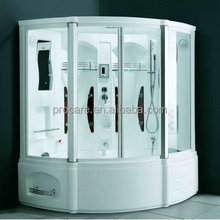 portable jetted tub shower combo/steam shower tub combo with massage tub