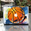 PAG Removable Basketball pattern vinyl laptop skins for macbook air pro with retina