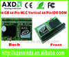 Horizontal 2GB MLC 44Pin IDE SSD DOM for MID/POS Machine