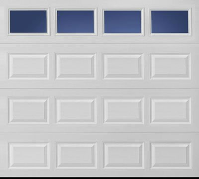 high quality short panel garage door with CE